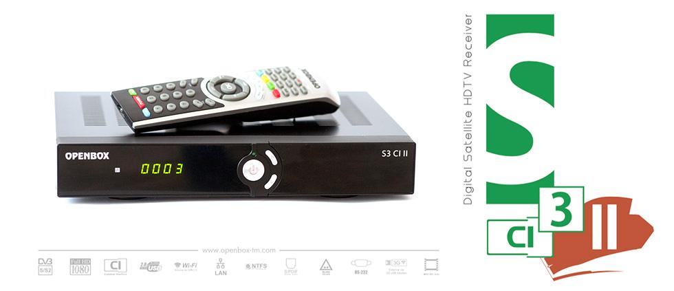 Лучший компаньон CAM модуля для спутникового ТВ - Openbox S3 CI II