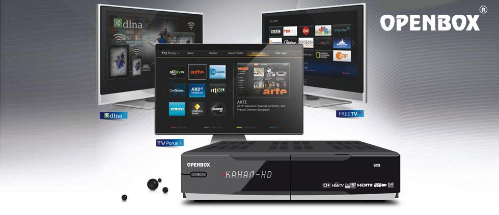 Новинка! HD ресиверы Openbox SX9 HD и Openbox SX9 Combo в наличии
