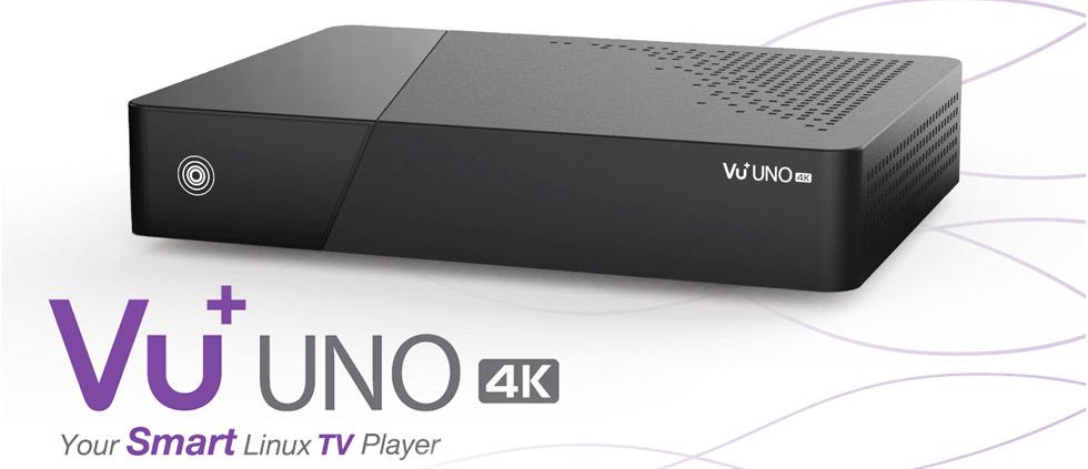 В продажу поступили спутниковые 4K ресиверы торговой марки Vu+