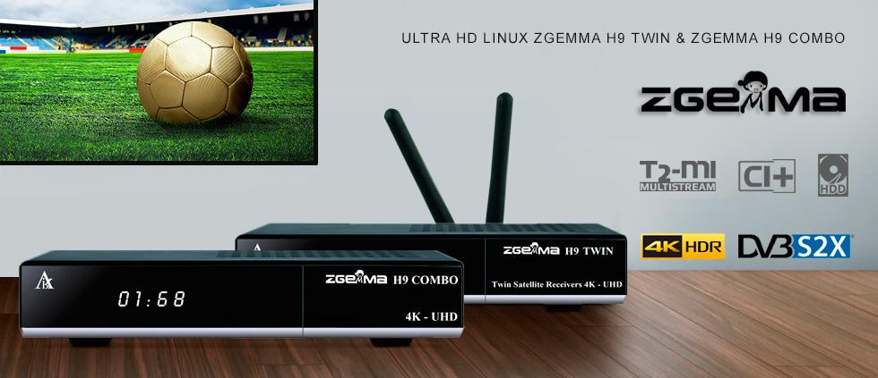 Дождались! Двухтюнерные 4K Linux ресиверы Zgemma с супер возможностями - по доступной цене!