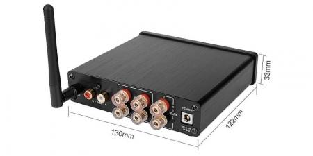 Аудио Bluetooth усилитель AIYIMA A03 Серебристый