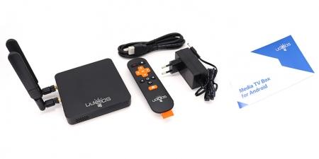 IPTV приставка Ugoos AM6B Plus 4/32Gb (WiFi-6)