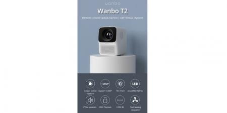 Проектор Wanbo T2 Max (Глобальная версия)