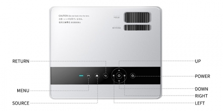 Проектор TouYinger X30W Android Белый