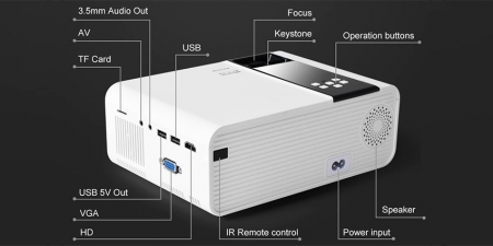 Проектор Thundeal TD90W Android