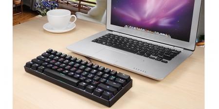 Клавиатура Motospeed CK62 Red Switch с подсветкой