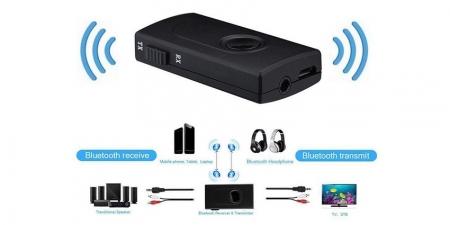 Аудио Bluetooth адаптер RX/TX Booox