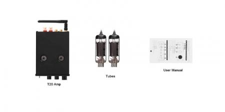Аудио Bluetooth усилитель Fosi Audio T20 чёрный
