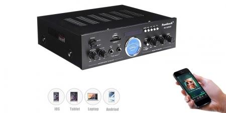 Аудио Bluetooth усилитель Sunbuck AV-505AT чёрный