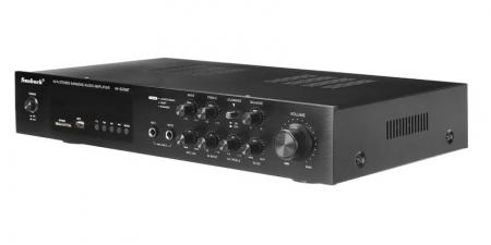Аудио Bluetooth усилитель Sunbuck AV-628BT черный