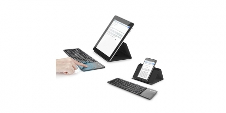 Беспроводная складная Bluetooth клавиатура Vontar