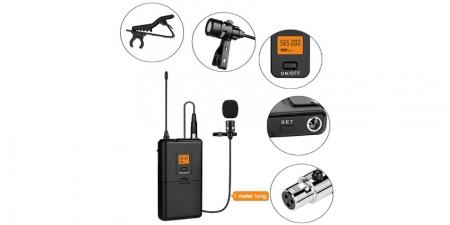 Беспроводной петличный микрофон Fifine K037