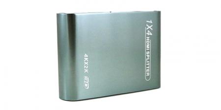 HDMI делитель Gecen HD-104N 4K (1 вход / 4  выхода)