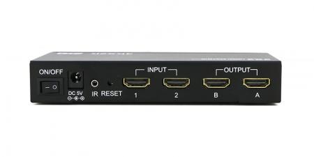 HDMI матрица Gecen HD-202N 4K  (2 входа / 2 выхода)