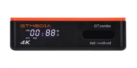 IPTV/DVB-S2X/T2/С приставка GTMEDIA GT Combo