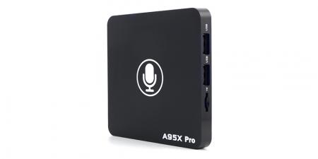 IPTV приставка Booox A95X Pro 2/16Гб Voice control