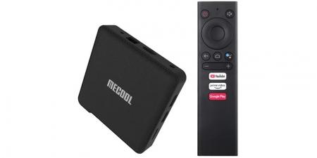 IPTV приставка Mecool KM1 Deluxe 4/32Gb