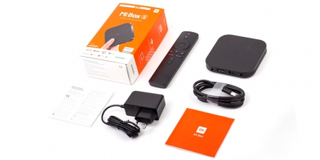 IPTV приставка Xiaomi Mi Box S 4K
