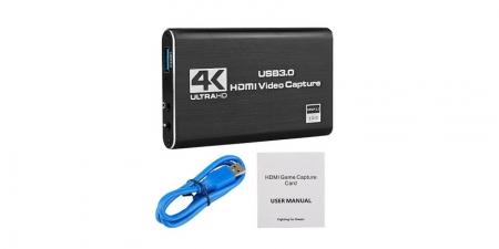 Карта видеозахвата USB 3.0 Booox VC03 4K