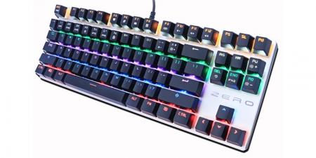 Клавиатура Metoo Zero X76 (87 key) Red Switch с подсветкой