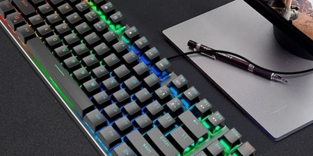 Клавиатура Zuoya X51 Blue Switch с mix подсветкой