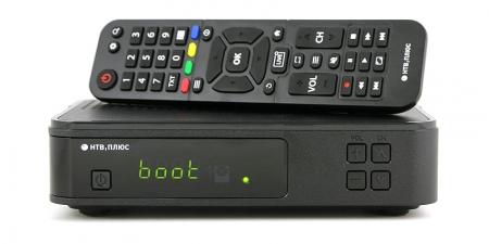 Комплект НТВ-ПЛЮС с интерактивным приемником VA1020