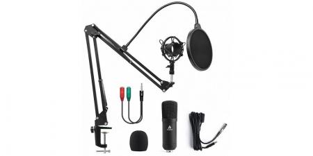Конденсаторный микрофон со стойкой Maono AU-A03