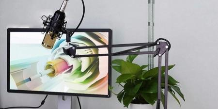 Конденсаторный микрофон со стойкой BM-800K Чёрный