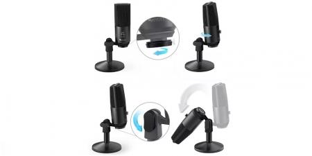 Конденсаторный USB микрофон Fifine K670 Black
