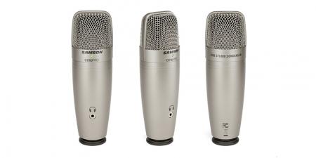 Конденсаторный USB микрофон Samson C01U Pro