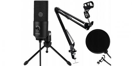 Конденсаторный USB микрофон со стойкой Fifine T669