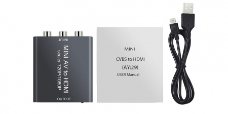 Конвертер AV к HDMI Booox BX30 Mini