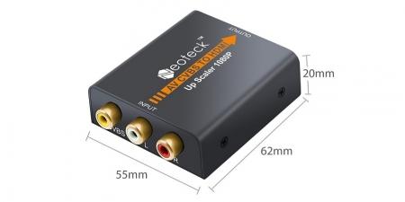 Конвертер AV к HDMI NTK023 Neoteck