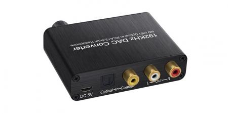 Конвертер звука 5.1 SPDIF/Coaxial на RCA/3.5 Booox DAC50