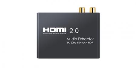 Конвертер звука (HDMI 2.0 Audio Extractor) Booox AE30
