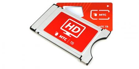 Модуль МТС ТВ 4K (с картой 1 мес)