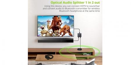 Оптический SPDIF аудио разветвитель 1x2 VC450 Neoteck