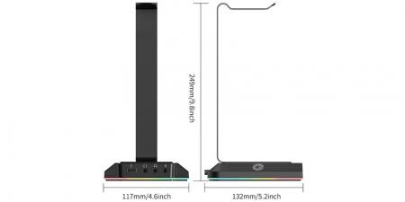 Подставка держатель для игровой гарнитуры EKSA W1