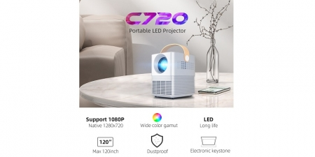 Проектор Byintek C720 Update