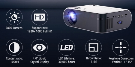 Проектор Thundeal TD60A Multiscreen