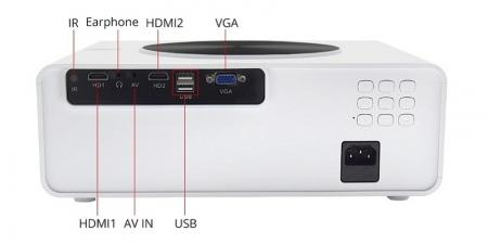 Проектор TouYinGer Q9A Mirroring Белый