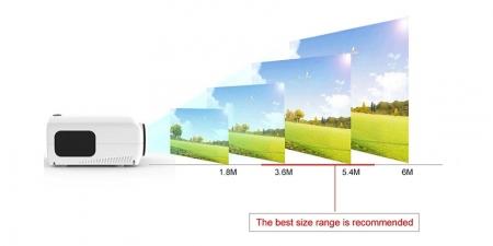 Проектор TouYinGer S1080 Белый