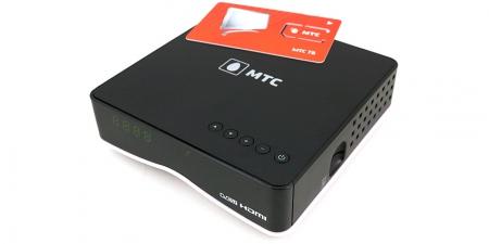 Ресивер EKT DSD 4404 + карта МТС 1 год (Irdeto)