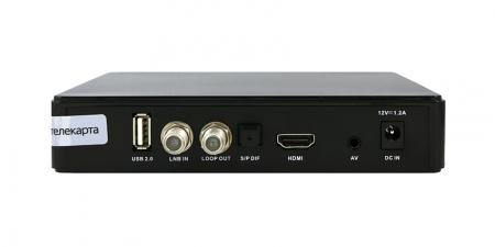 Ресивер EVO 09 HD Conax (Телекарта HD) + карта 1 HD