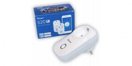 Умная розетка Sonoff S20 Wi-Fi