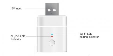 Умный USB адаптер Sonoff DIY Micro