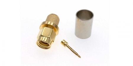 ВЧ-разъём SMA-male обжимной под кабель 5D-FB