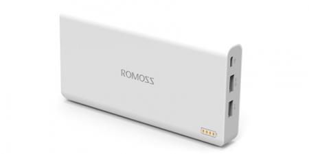 Внешний аккумулятор Romoss Polymos 20