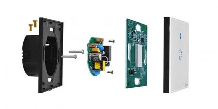Выключатель на одну зону Sonoff T4 Wi-Fi (T4EU1C)