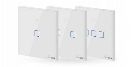 Выключатель на три зоны Sonoff T1 Wi-Fi (T1EU3C) new